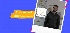 Mohammad at Higson Foundation